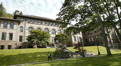 WWU Old Main building